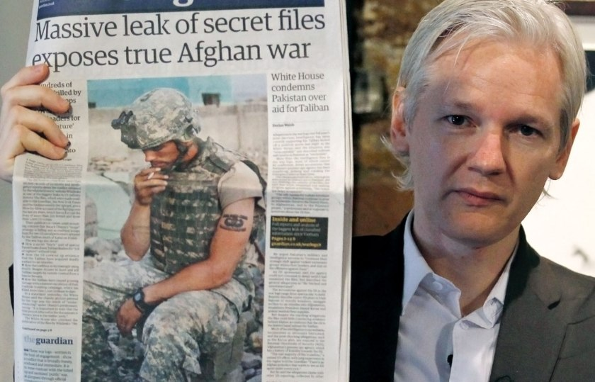 What are They Hiding? Human Rights Groups Blocked from Monitoring Julian Assange Trial Julian-assange-military-documents-wikileaks-australian-press-july-26-2010