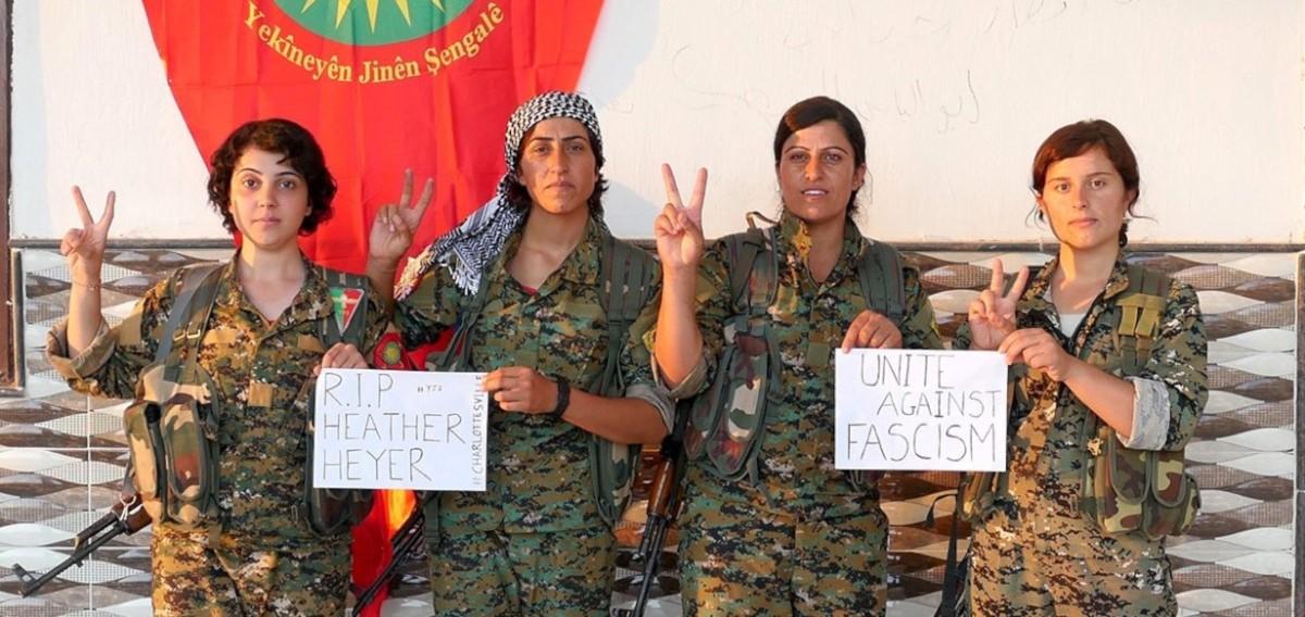 "Yezidi Kurdish feminist militia YJŞ commemorates its first 5 years: ""Being disorganized in these lands means extinction"""