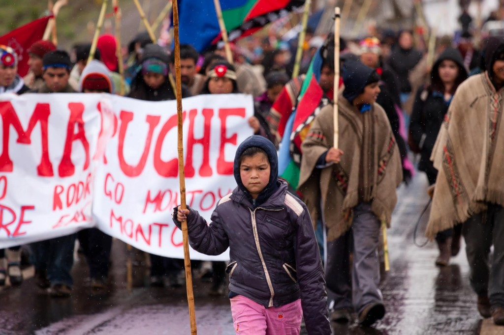 The Lavkenche Resistance claims a series of Sabotage actions against giants of the Extractive ForestryIndustry