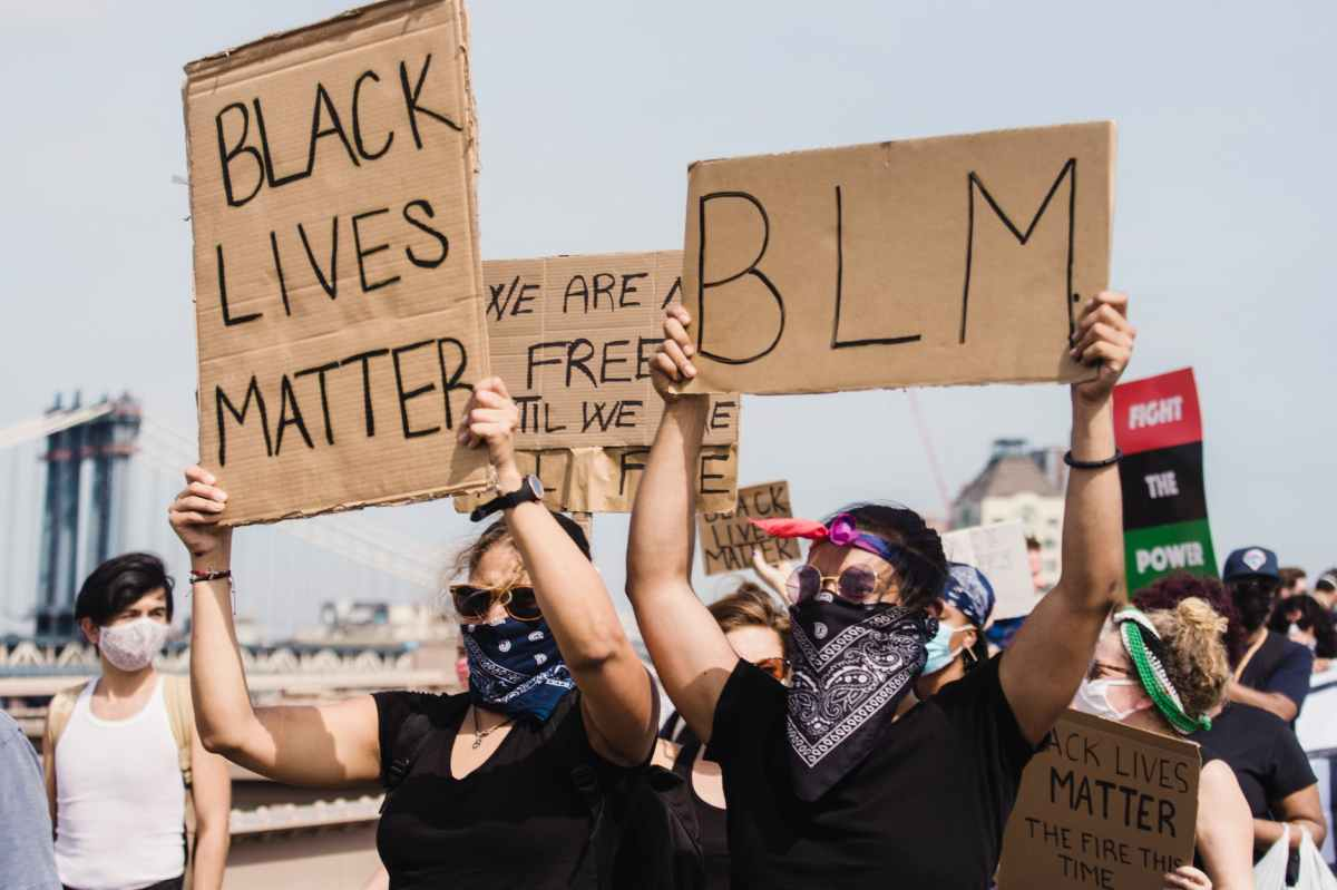 Black Lives Matter takes on vaccine mandates as protests erupt at a famous NYC restaurant and Biden's net approval drops 12 points amongblacks