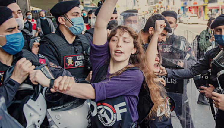 'We Can't Shelter' movement catches on across Turkey as police detain students incapital